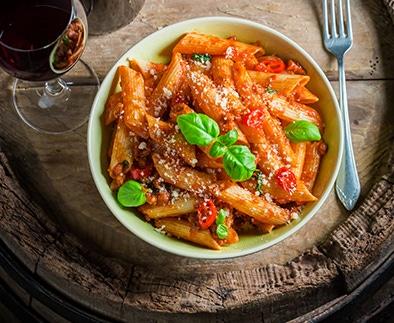 Vins pour pasta