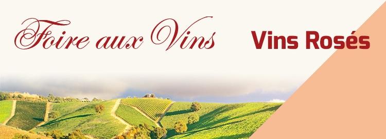 Foire aux Vins vins rosés