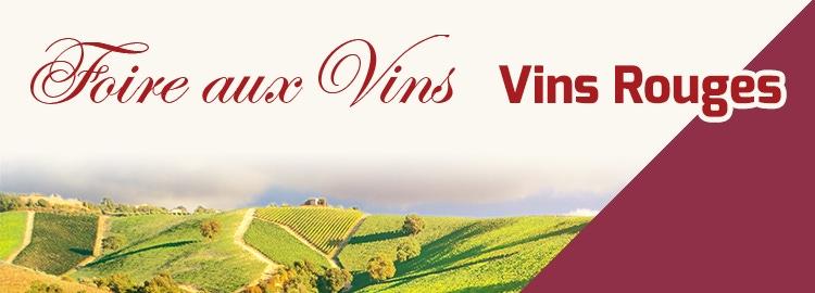 Foire aux Vins vins rouges