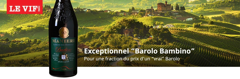 """LEVIF - Exceptionnel """"Barolo Bambino"""""""