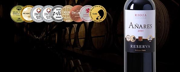 Rioja Reserva aux multiples distinctions